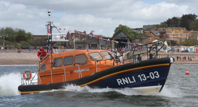 Exmouth Lifeboat to visit Lympstone  – Wednesday 23rd August
