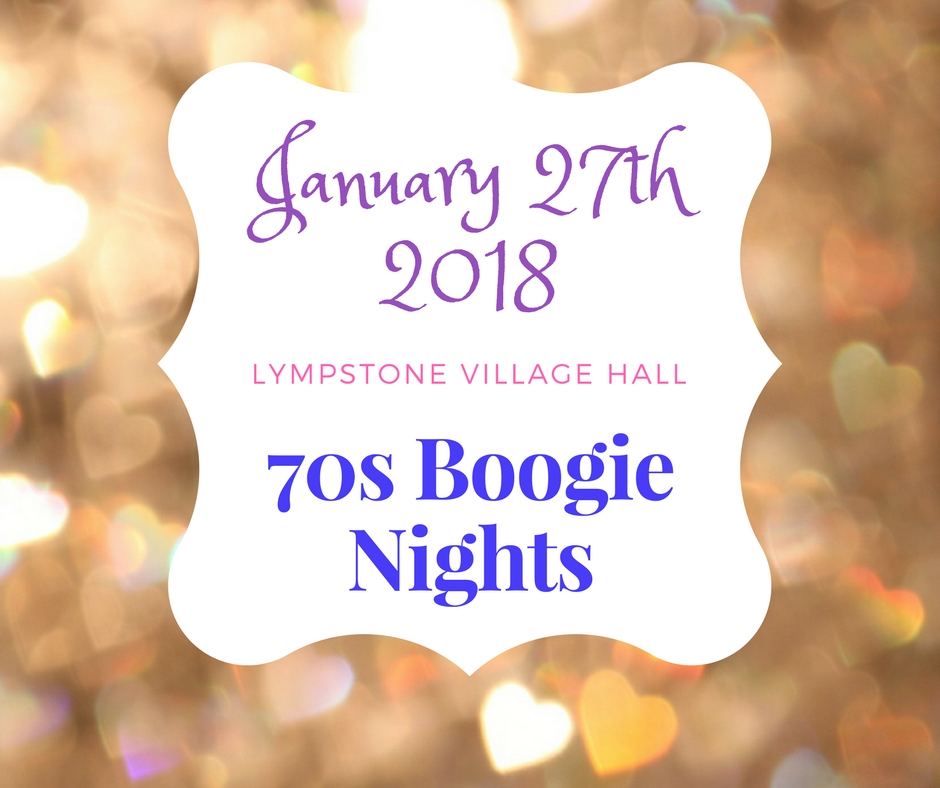 70's 'Boogie Nights' Dance with 3 course meal - BOOKING CLOSED